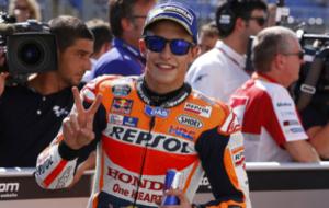 M�rquez sonr�e por el resultado en Brno