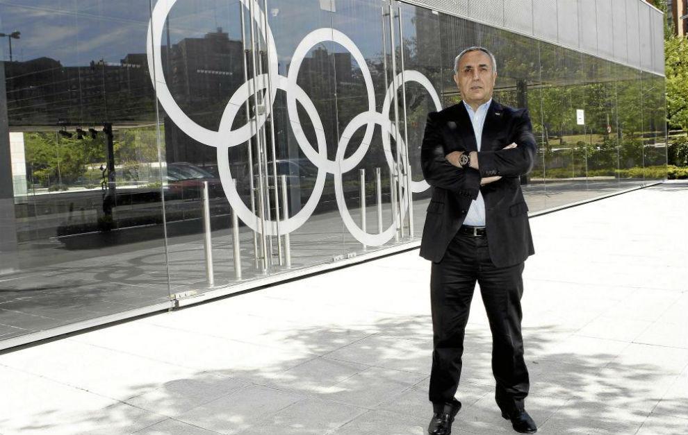 Alejandro Blanco, en la sede del COE.