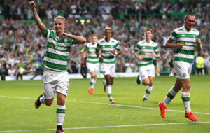Griffiths celebra uno de sus goles al Hapoel.