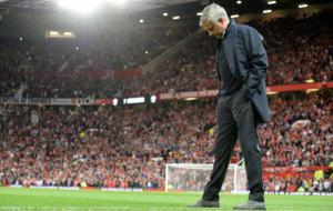 Mourinho, en Old Trafford.