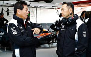 Arai habla con su sucesor en Honda, Hasegawa