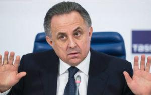 Vitaly Mutk�, ministro de deportes ruso.