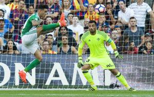 Ad�n, en el partido frente al Barcelona