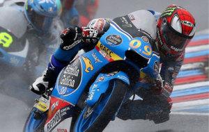 Navarro, durante el Gran Premio de la Rep�blica Checa
