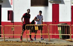 Rami, en la Ciudad Deportiva.