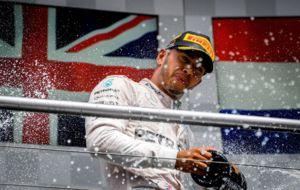El ingl�s en el podio del GP de Alemania