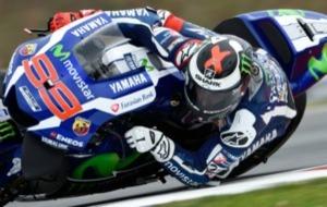 Jorge Lorenzo, sobre su Yamaha