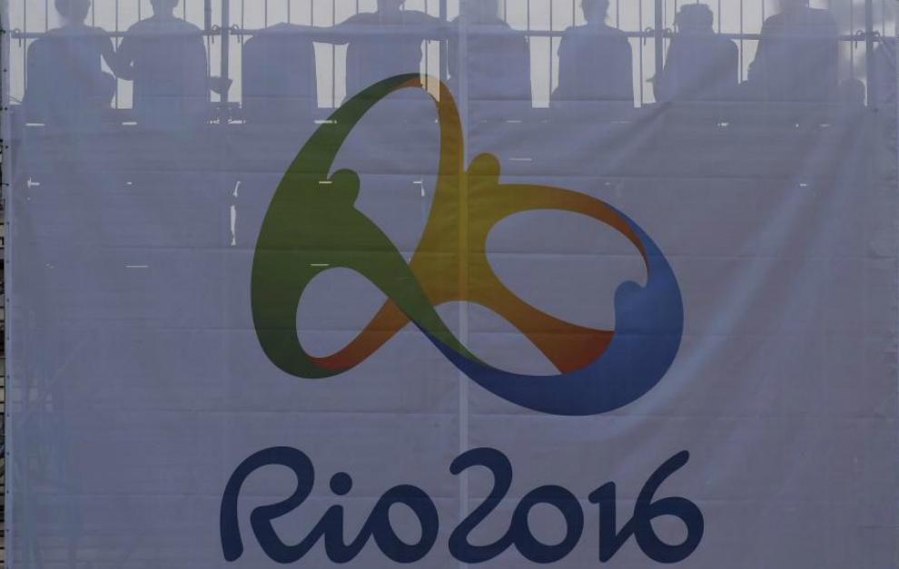 Bandera del logo de Río 2016