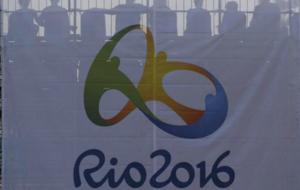 Bandera del logo de R�o 2016