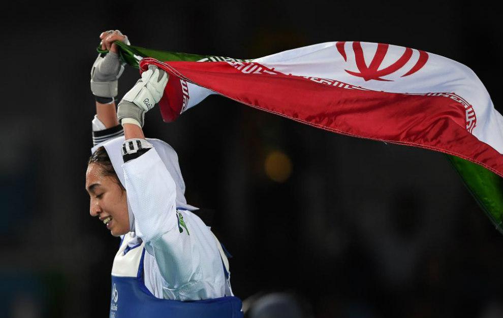Kimia Alizadeh, primera medallista iraní