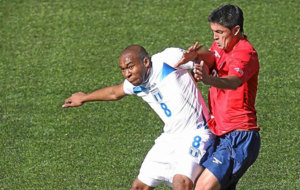 Millar, en un duelo ante Honduras con Chile.