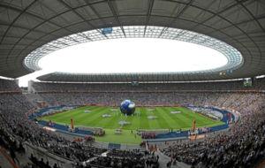Visual del estadio ol�mpico de Berl�n, sede del Mundial 2011.
