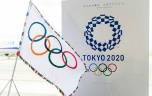 La bandera ol�mpica ya esta en Tokio