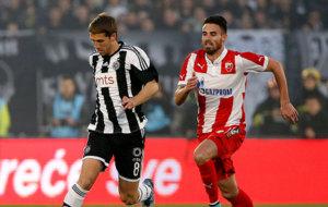 Brasanac, en un partido con el Partizan