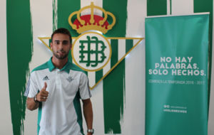 Rafa Navarro, en el antepalco del Villamar�n
