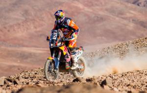 Toby Price (KTM) en la prueba chilena