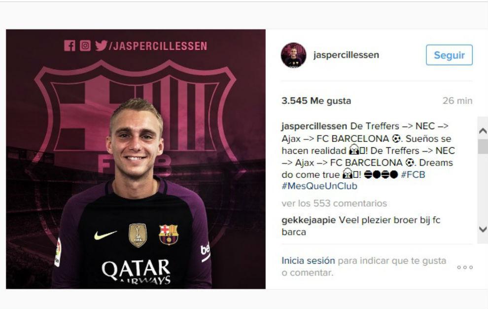 Camiseta FC Barcelona Cillessen
