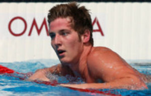 James Feigen after a competition in the Rio 2016 Olympic Games.