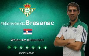 Brasanac, nuevo jugador del Betis