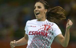 Eli Pinedo, durante los Juegos Ol�mpicos.