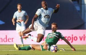 Pione Sisto en el partido de la primera jornada de liga contra el...