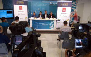 La presentaci�n hoy de la Senior Masters Cup en Marbella
