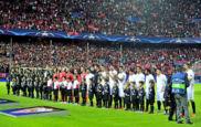 Partido entre Sevilla y Manchester City de la fase de grupos de la...