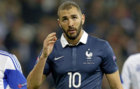 Karim Benzema during a friendly with France.