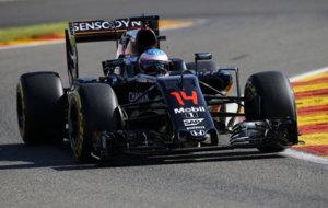 Alonso, durante el escaso periodo de tiempo que ha permanecido en...