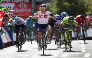 Jonas Van Genechten ganador de la 7� etapa de la Vuelta Espa�a