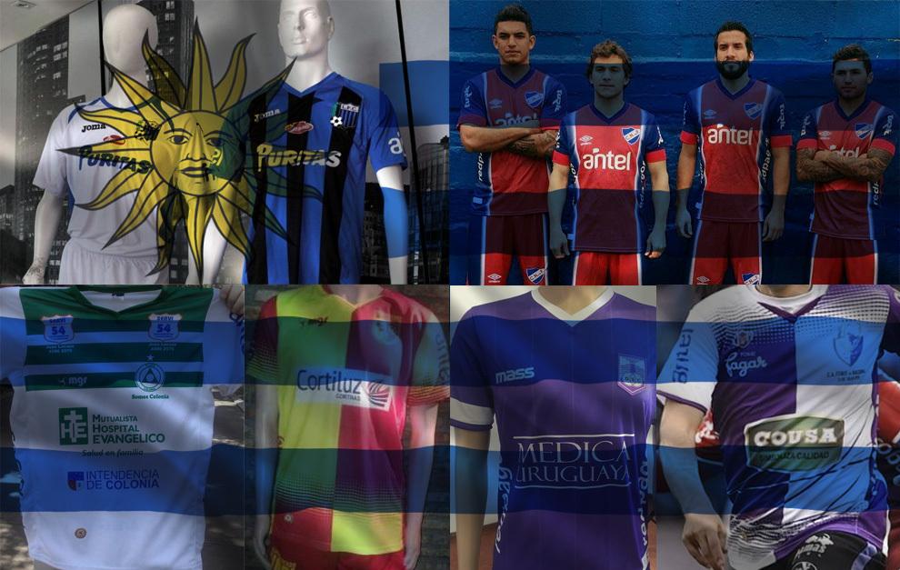 Estas son las camisetas de los 16 clubes de Uruguay - Conozca el  significado de cada apodo de los...  5c2ecb669f2da