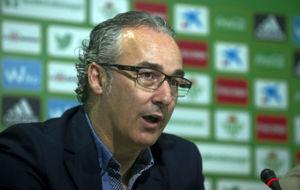 Miguel Torrecilla, en una rueda de prensa
