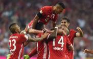 Los jugadores del Bayern celebran uno de sus goles.