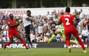 Danny rose tied the game in the second half.