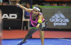 Cecilia Reiter en las semifinales femeninas WPT La Nuc�a Open P�del