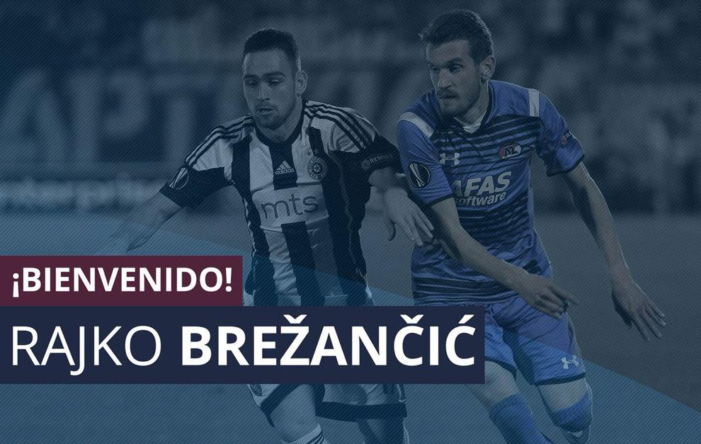 El club oscense anuncia la contratación de Rajko.