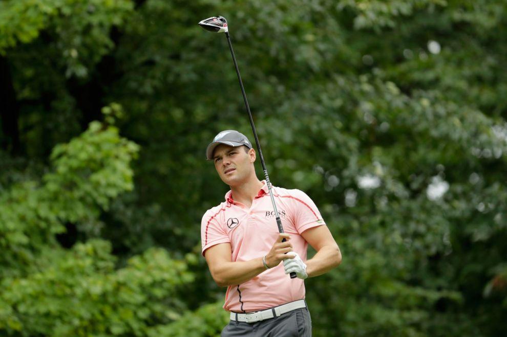 Martin Kaymer, durante el PGA Championship.