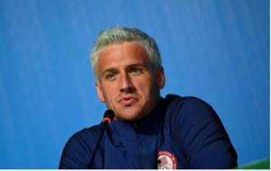 Ryan Lochte en rueda de prensa previo a los Juegos de R�o