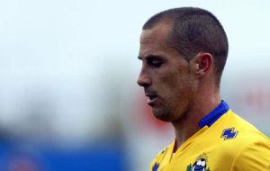 Juan Jos� Collantes lleg� al Alcroc�n la temporada pasada. /