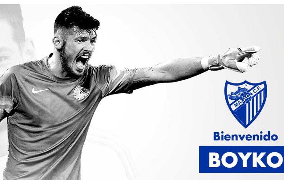 El Málaga anuncia la cesión del portero del Besiktas Boyko.