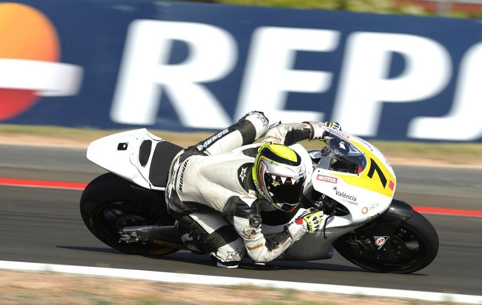 Lecuona, en el FIM CEV de Moto2