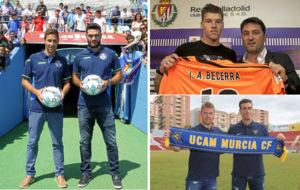 Getafe, Valladolid y UCAM,  los equipos que m�s se han reforzado en...