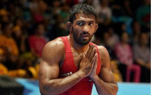 Yogeshwar Dutt, tras caer eliminado en la primera ronda en Río.