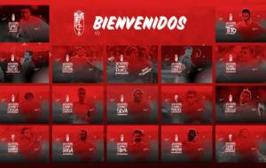 Hasta 18 futbolistas ha incoporado el Granada en el mercado estival.