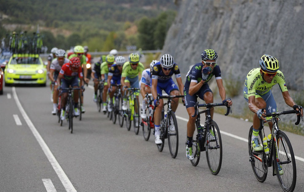 Alberto Contador encabeza la rebelión. / PhotoGomezSport