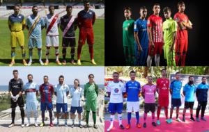 Las 22 equipaciones de los equipos de LaLiga 123
