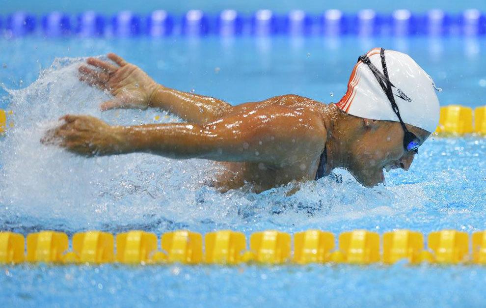Teresa Perales en los Juegos Paralímpicos de Londres