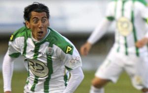 Pedro R�os, en un partido con el C�rdoba.