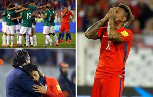 Las mejores im�genes del Chile 0-0 Bolivia.