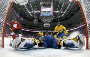 Un partido de Suecia, rival de Finlandia.